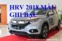 Giá Xe Honda HRV 1.8G Màu Ghi Bạc Model 2018 Tại Hà Nội Sài Gòn Việt Nam 300 Triệu Nhận Xe Trả Góp
